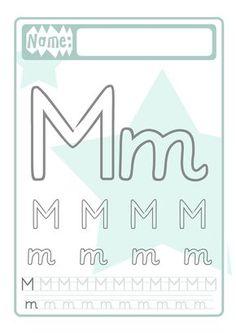 This domain familinchen. Kindergarten Portfolio, Alphabet, Name Crafts, Names, Letters, School Kids, Lollipops, Blog, Montessori