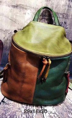 Backpack Bags, Leather Backpack, Leather Bag, Fashion Handbags, Tote Handbags, Urban Bags, Versace Bag, Handmade Purses, Denim Bag
