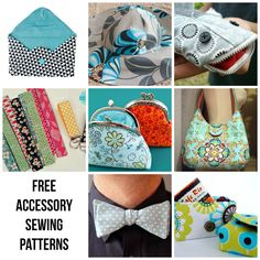 FREE Accessory Patterns to Sew Today!