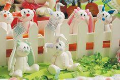 A festa dos coelhos - Portal de Artesanato - O melhor site de artesanato com passo a passo gratuito