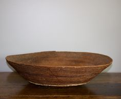 "Antique Makenge Wedding Basket - 23"" Round"