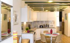Carré Apartment B.  If you choose to stay at the Carre Apartment B, you will find that one of the best traits of this first floor, 85m2 canal apartment is its great location. It is situated near the Amstel River and the Royal Theatre Carré, in the centre of Amsterdam.