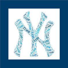 Personalized Pillowcase New York Yankees Pillow Room Decor Baseball MLB  Christmas Gift Logo 45a5ab9cec5e
