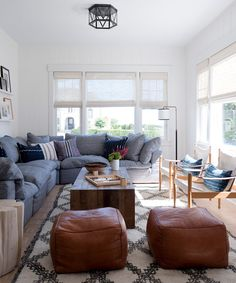 What a fabulous beach house designed by  Threshold Interiors ! This Jersey Shore Craftsman is s...