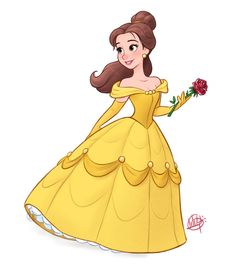Belle by LuigiL.deviantart.com on @DeviantArt