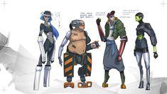 ArtStation - Average Cyborgs, Tom McDowell