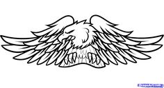 Harley-Davidson Logo Coloring Pages | how to draw harley-davidson logo, harley-davidson step 11