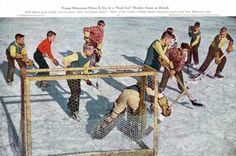 Old Time Pond Hockey