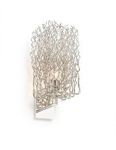 The Hollywood Block Wall Sconce by Brand Van Egmond has been designed by William Brand, Annet van Egmond. Traveling through Africa, William and Annet were touched by the slenderness and pure beauty of the branches and trees scattered across the la. Ceiling Light Design, Ceiling Lamp, Ceiling Lights, Modern Wall Lights, Modern Chandelier, Beach Lighting, Hollywood, Block Wall, Steel Wall
