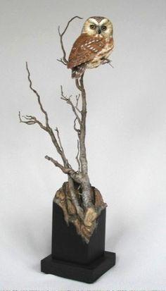 Gail Stanek-wood carving