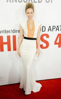 Leslie Mann  WHAT:    Vionnet  WHERE:    This Is 40 premiere, Hollywood  WHEN:    December 12, 2012