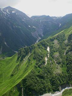 Caucasus mtns, Georgia