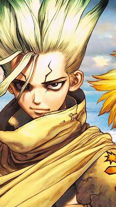 Anime In, Chica Anime Manga, Otaku Anime, Anime Guys, Stone Wallpaper, 3840x2160 Wallpaper, Watercolor Wallpaper Phone, Naruto Vs Sasuke, Stone World