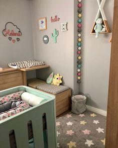 Kids room and nursery ideas Baby Bedroom, Baby Boy Rooms, Baby Room Decor, Nursery Room, Girls Bedroom, Nursery Ideas, Nursery Decor, Baby Room Design, Kids Decor
