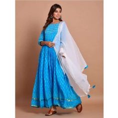 Buy Gowns - Discover the wide range of designer gowns online Abaya Fashion, Indian Fashion, Party Wear Gowns Online, Gown Suit, Floor Length Gown, Batik Prints, Cotton Leggings, Anarkali Suits, Designer Gowns