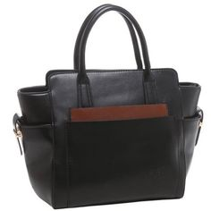 HELSA Runway Style Boat Shape Statement Office Satchel Handbag - For Sale Check more at http://shipperscentral.com/wp/product/helsa-runway-style-boat-shape-statement-office-satchel-handbag-for-sale/