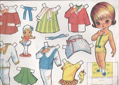 All Paper, Paper Art, Paper Crafts, Child Doll, Kids Dolls, Doll Patterns, Altered Art, Paper Dolls, Disney Characters