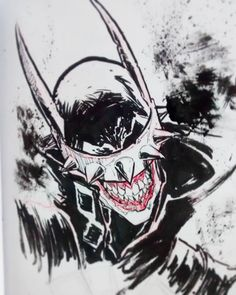 Harley Batman, Joker And Harley, Sketch Ink, Sketches, Dc Comics, Dark Knight Returns, Evil Art, Batman Family, Dark Night