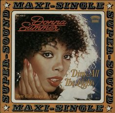 """For Sale - Donna Summer Dim All The Lights Germany  12"""" vinyl single (12 inch record / Maxi-single) - See this and 250,000 other rare & vintage vinyl records, singles, LPs & CDs at http://eil.com"""