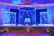Stage, Decorative Lighting, Wedding Company, Spots, Draping, Light Decorations, Marina Bay Sands, Festivals, Layouts