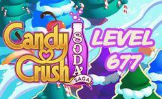 Candy Crush Soda Saga Level 677