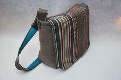 Bag of vintage fabric. made by order.  www.floortassen.nl