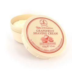 Cremă de ras Grapefruit - Taylor of Old Bond Street - Top-Man. Shaving & Grooming, Saint James, Bond Street, Shaving Cream, Grapefruit, Top, Cream, Santiago, Razor Bump Cream