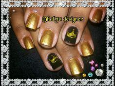 Coroas com dourado