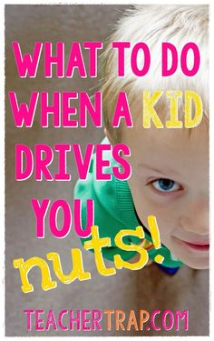Strategies for Dealing With Tough Kids!