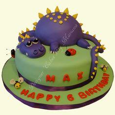 עוגות מעוצבות של מריאנה  Dragon cake - עוגת דרקון