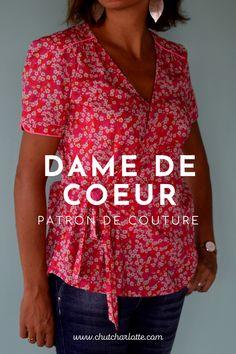 Patron Mode Couture Femme disponible en grandes tailles également sur www.chutcharlotte.com Button Downs, Fashion, Big Sizes, Fashion Clothes, Budget, Paper Pieced Patterns, Fashion Styles, Moda, Fashion Illustrations