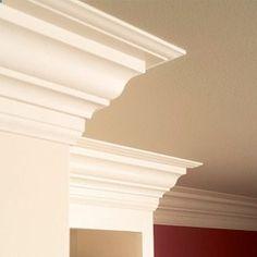 How to install three piece design molding