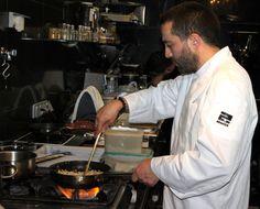 Marcos Cerqueiro, an excellent cook, is chef-partner at Abastos 2.0, Mercado de Abastos, Santiago de Compostela, Galicia. Photo by Gerry Dawes©2010 / gerrydawes@aol.com / Facebook / Twitter / YouTube / Pinterest. — at Abastos 2.0.