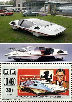 FAILED VEHICLE CONCEPTS - 1970 FERRARI 512 S MODULO