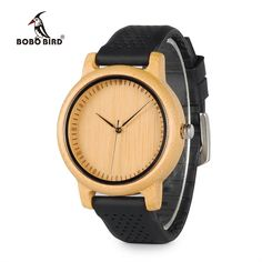 Cheap watch ladies, Buy Quality watch with directly from China watches luxury watch Suppliers: BOBO BIRD Luxury Watch Ladies' Bamboo Wood Quartz Watches With Colorful Silicone Straps relojes mujer marca de lujo 2017 Stylish Watches, Luxury Watches, Watches For Men, Elegant Watches, Women's Watches, Popular Watches, Casual Watches, Fashion Watches, Swiss Army Watches