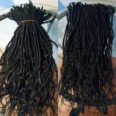 Items similar to Dreadlocks Extensions Goddess Locs Handmade Prelooped Easy Install Crochet Braids Extensions Hair Jewelry Included Partial/Full Head Set on Etsy Braids With Extensions, Synthetic Hair Extensions, Synthetic Lace Front Wigs, Afro Twist, Twist Braids, Kanekalon Braids, Goddess Braids, African Braids, Wig Making