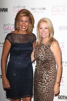 Kathie Lee Gifford And Hoda Kotb Attend The Jacobs Cure 2012 Gala