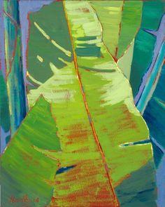 Banana Leaf - Tropical Hawaiian Artwork