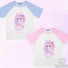 S-3XL [Kitty Conspiracy] Sweet Lolita Girl Unisex Shirt SP167324 Kawaii Shirts, Conspiracy, Custom Made, Kitty, Unisex, Sweet, Mens Tops, T Shirt, Collection