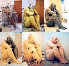 Histoire des arts de Rombas: Ron Mueck créateur d'humains