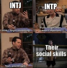 Intp Personality, Myers Briggs Personality Types, Mbti Charts, Hello Memes, Intj Intp, Psychology Facts, Social Skills, Humor, Mood