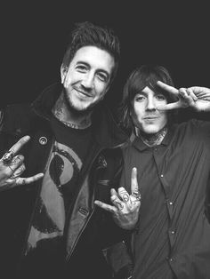 Austin Carlile//Of Mice And Men & Oliver Sykes//Bring Me The Horizon