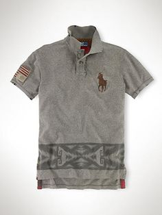 USA Patch Big Pony Polo - Custom-Fit Polos - RalphLauren.com Camisas Polo 150abd935af8e