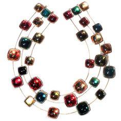 Yves Saint Laurent Confetti Jeweled Necklace