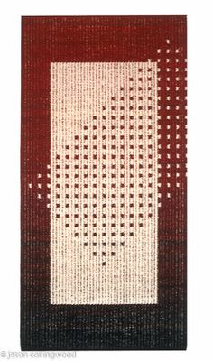 Weaving Projects, Weaving Art, Weaving Patterns, Tapestry Weaving, Hand Weaving, Strip Quilts, Tapestry Design, Tapestry Crochet, Woven Wall Hanging