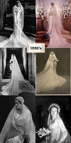 Take a look at the best vintage Bridal photos in the photos below and get ideas for your outfits! Wedding Attire, Wedding Bride, Dream Wedding, 40s Wedding, Vintage Wedding Photos, Vintage Bridal, Vintage Weddings, Bridal Gowns, Wedding Gowns