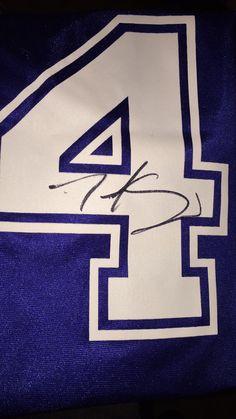 Cruz autograph