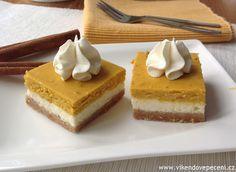 VÍKENDOVÉ PEČENÍ: Dýňový cheesecake