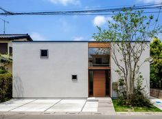 Architecture in Japan Facade Design, Exterior Design, Interior And Exterior, Japanese Architecture, Interior Architecture, Japanese House, Facade House, Home And Deco, Minimalist Home