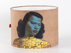 The Tretchikoff Project - Tretchikoff Chinese Girl Lampshade, AU$71.86 (http://shop.vladimirtretchikoff.com/tretchikoff-chinese-girl-lampshade/)